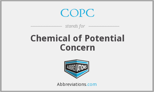 COPC - Chemical of Potential Concern