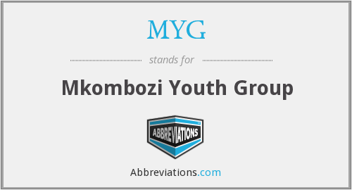 MYG - Mkombozi Youth Group