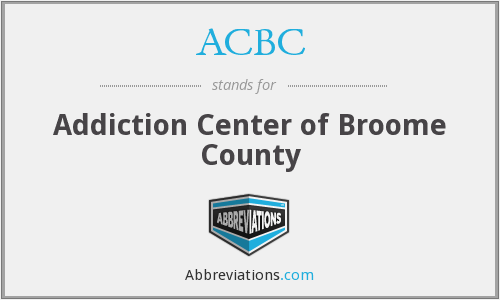 ACBC - Addiction Center of Broome County