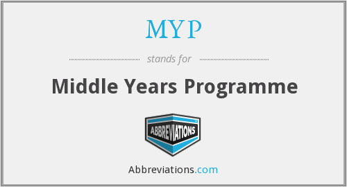 MYP - Middle Years Programme