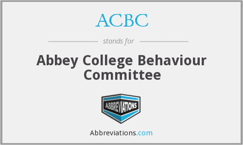 What does ACBC stand for?