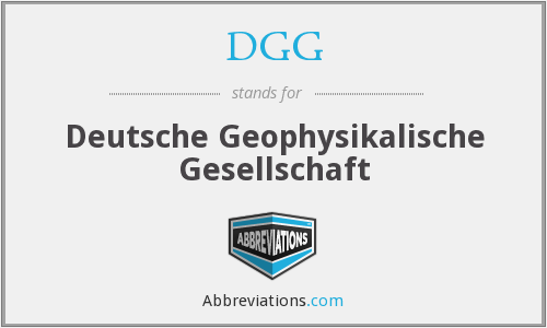 What does DGG stand for?