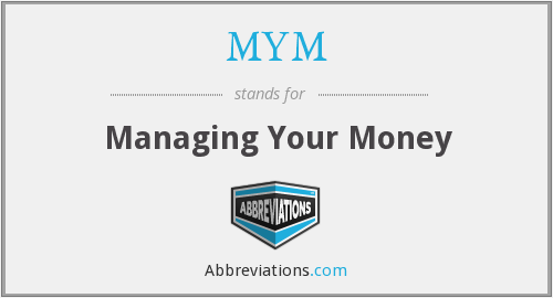 MYM - Managing Your Money