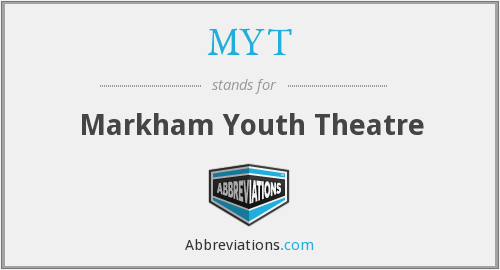 MYT - Markham Youth Theatre
