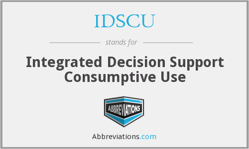 What does IDSCU stand for?
