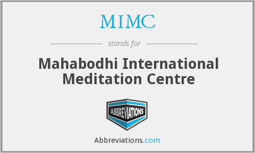 MIMC - Mahabodhi International Meditation Centre