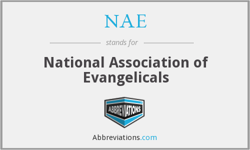 NAE - National Association of Evangelicals