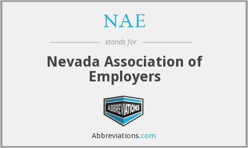 NAE - Nevada Association of Employers