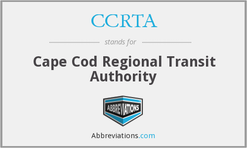 What does CCRTA stand for?