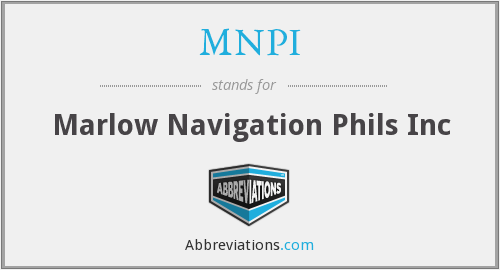 What does MNPI stand for?