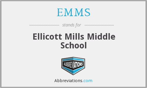 EMMS - Ellicott Mills Middle School