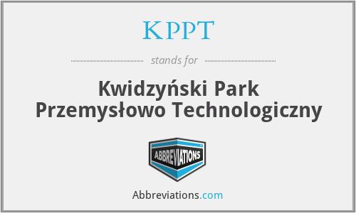 KPPT - Kwidzyński Park Przemysłowo Technologiczny