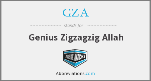 What does GZA stand for?