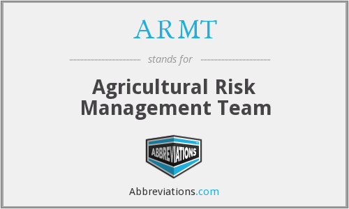 What does ARMT stand for?