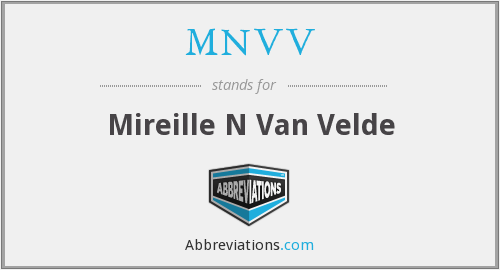 What does MNVV stand for?