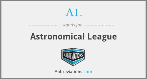 AL - Astronomical League
