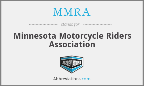 What does MMRA stand for?