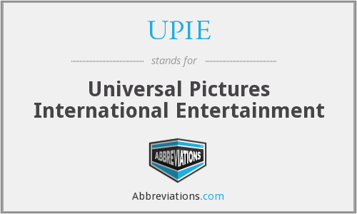 What does UPIE stand for?