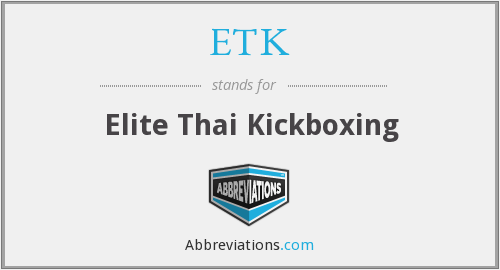 What does ETK stand for?