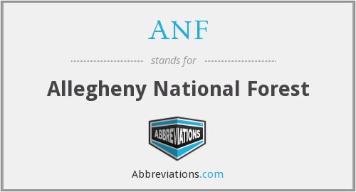 ANF - Allegheny National Forest