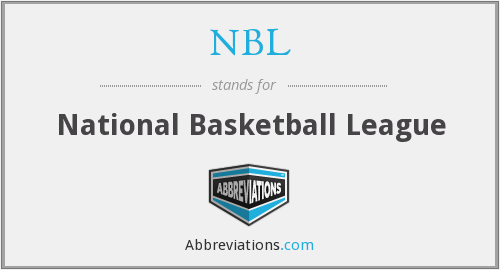 What does NBL stand for?