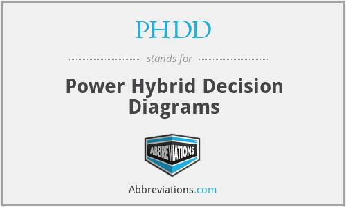 PHDD - Power Hybrid Decision Diagrams