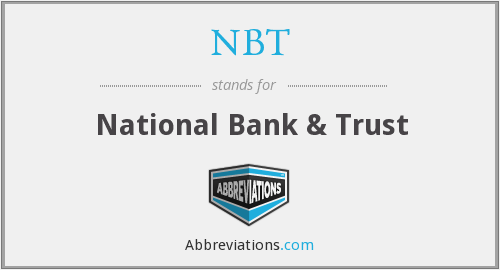 What does NBT stand for?