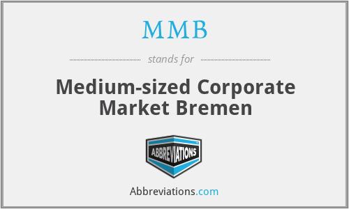 MMB - Medium-sized Corporate Market Bremen