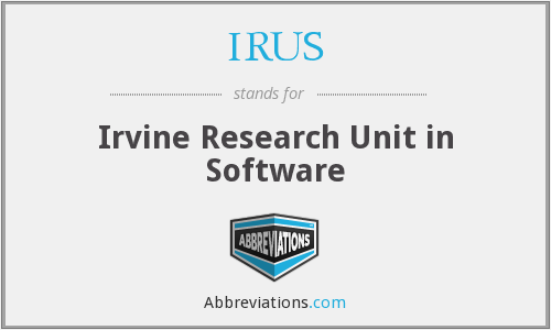 What does IRUS stand for?