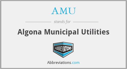 AMU - Algona Municipal Utilities