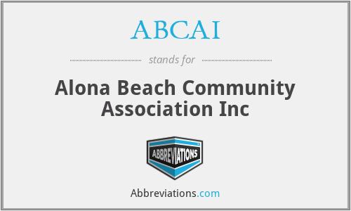 ABCAI - Alona Beach Community Association Inc