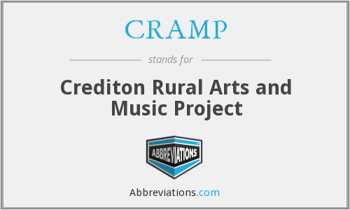 CRAMP - Crediton Rural Arts and Music Project