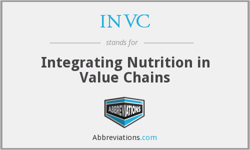 What does INVC stand for?