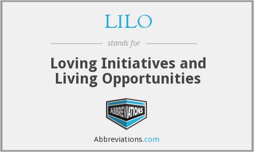 LILO - Loving Initiatives and Living Opportunities
