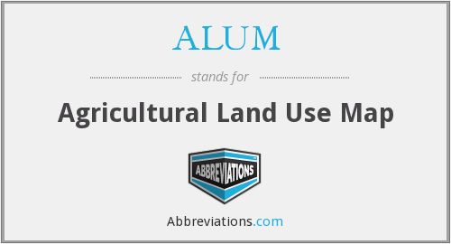 What does ALUM. stand for?