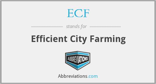 ECF - Efficient City Farming
