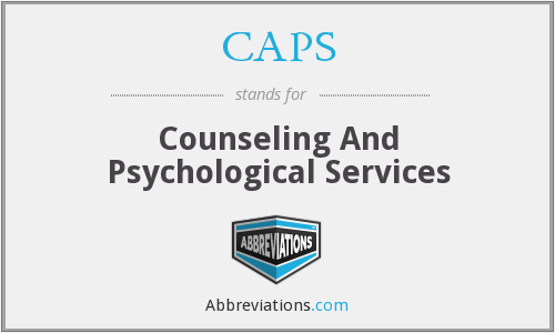 CAPS - Counseling And Psychological Services