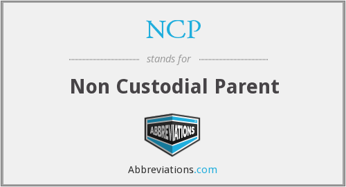 NCP - Non Custodial Parent