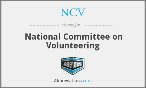 What does volunteering stand for?