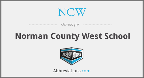 NCW - Norman County West School