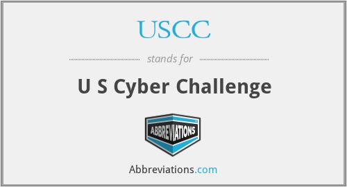 USCC - U S Cyber Challenge