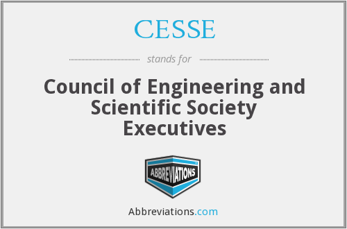 What does CESSE stand for?