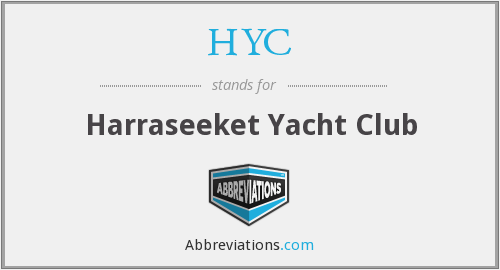 HYC - Harraseeket Yacht Club