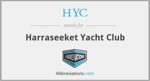 HYC - Harraseeket Yacht Club