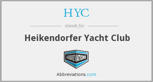 HYC - Heikendorfer Yacht Club