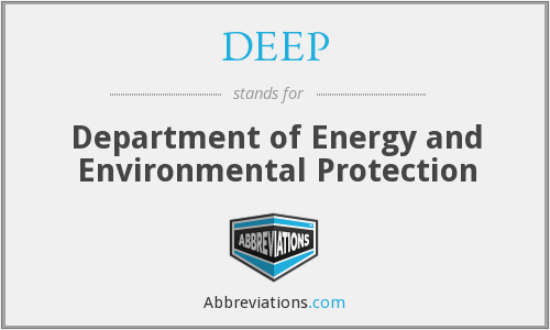 DEEP - Department of Energy and Environmental Protection