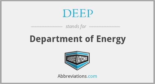 DEEP - Department of Energy