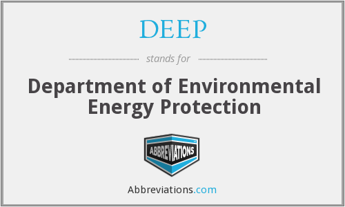DEEP - Department of Environmental Energy Protection