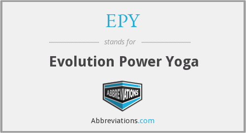 What does EPY stand for?