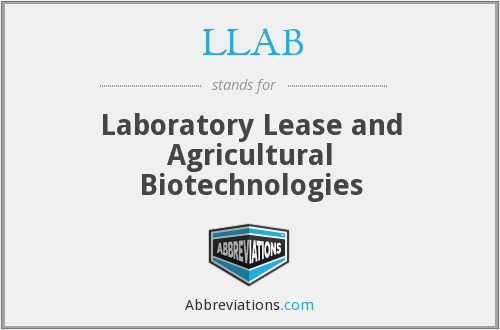 What does LLAB stand for?